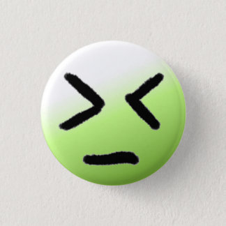 Emoticon Angry Green Button