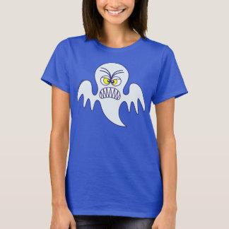 Emoticon asustadizo del fantasma de Halloween Playera