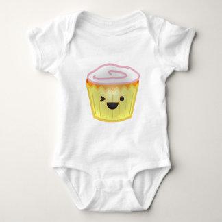 Emoticon Cupcake Baby Bodysuit