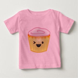 Emoticon Cupcake Baby T-Shirt