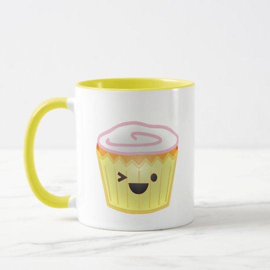 Emoticon Cupcake Mug