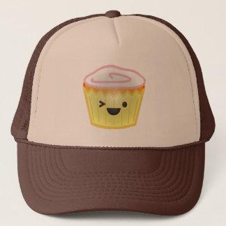 Emoticon Cupcake Trucker Hat