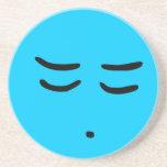 Emoticon Customizable Background Coaster
