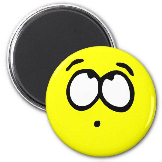 Emoticon Customizable Background Magnet