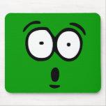 Emoticon Customizable Background Mousepad