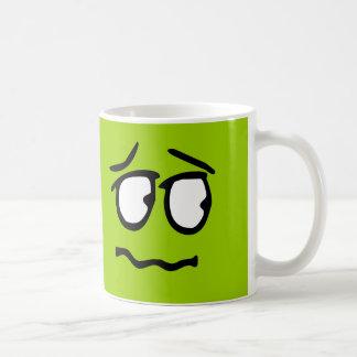 Emoticon Customizable Background Mug