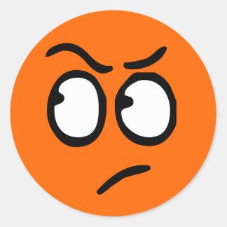 Emoticon Customizable Background Sticker