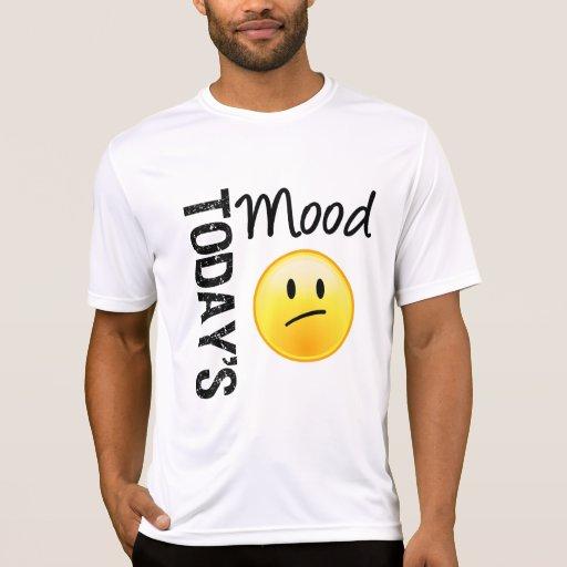 Emoticon de hoy del humor decepcionado camisas