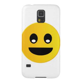 Emoticon de la sonrisa funda de galaxy s5