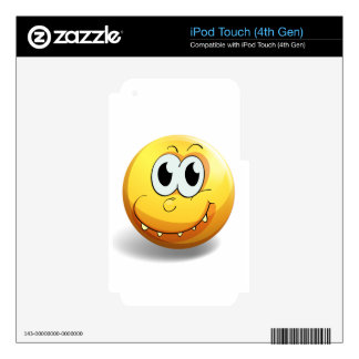 Emoticon Decal For iPod Touch 4G
