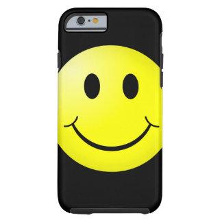 Emoticon del smiley del amarillo del cultura Pop Funda Resistente iPhone 6