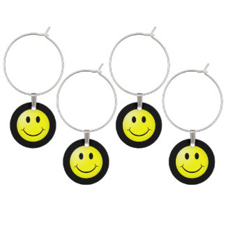 Emoticon del smiley del amarillo del cultura Pop Identificadores De Copas