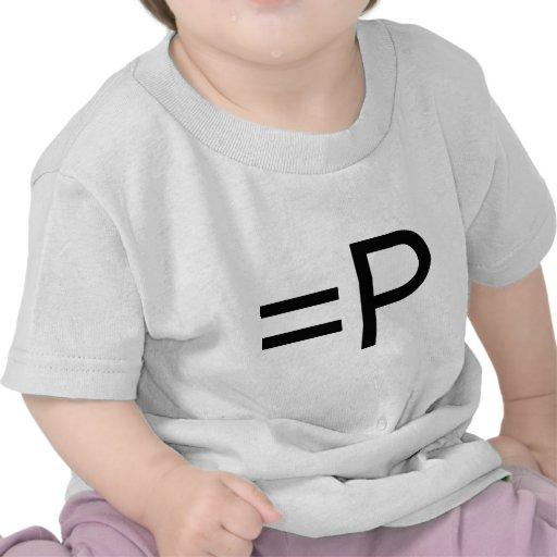 ¡Emoticon divertido de la cara! Camisetas