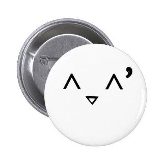 Emoticon: Embarrassed 2 Inch Round Button