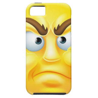 Emoticon enojado o de desaprobación Emoji iPhone 5 Fundas