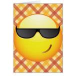 Emoticon fresco tarjeta de felicitación
