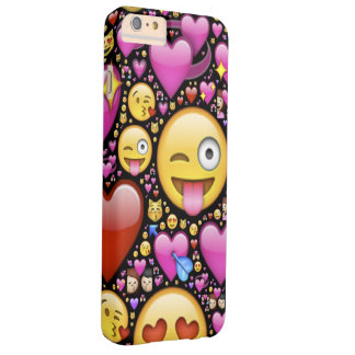 Emoticon Heart Barely There iPhone 6 Plus Case