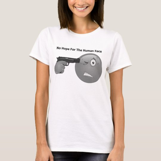 Emoticon Logo No Saying T-Shirt