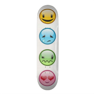 Emoticon Skateboard