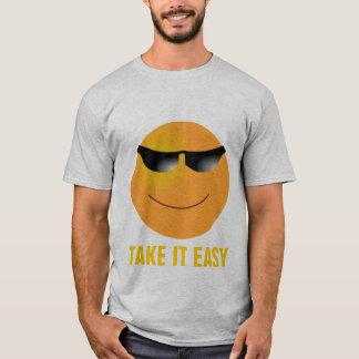 Emoticon Sunglasses Take It Easy T-Shirt