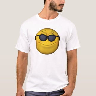 Emoticon With Sunglasses T-Shirt
