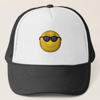 Emoticon With Sunglasses Trucker Hat