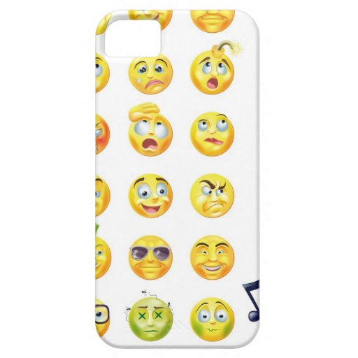 Emoticons iPhone SE/5/5s Case