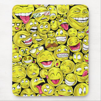 Emoticons Mouse Pad