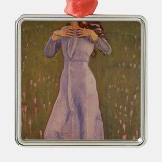 Emotion , 1900 metal ornament