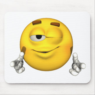 Emotion Guy - Wink Mousepad