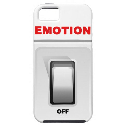 Emotion Off too much for Valentines iPhone 5 Cases