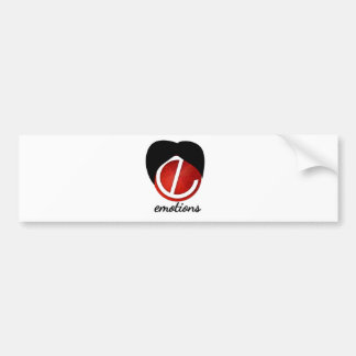 emotion turban bumper sticker