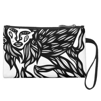 Emotional Attractive Stunning Loyal Suede Wristlet Wallet