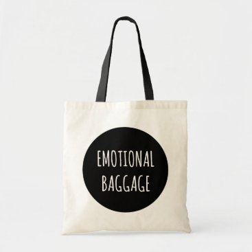 hacheu Emotional Baggage Circle Tote