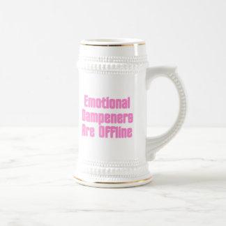 Emotional Dampeners Are Offline Beer Stein
