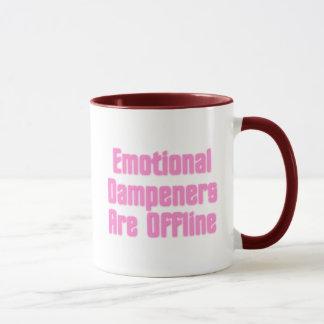 Emotional Dampeners Are Offline Mug