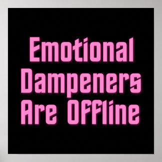 Emotional Dampeners Are Offline Print