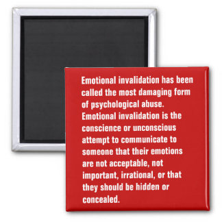 Emotional Invalidation Has Been Called … Magnet