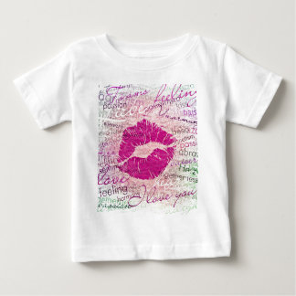 emotional kiss pink baby T-Shirt