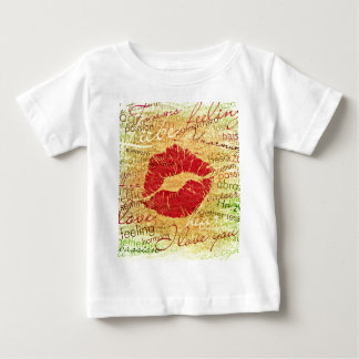 emotional kiss red baby T-Shirt