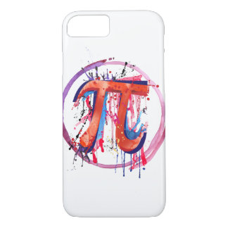 Emotional Pi, Action Painting Art iPhone 8/7 Case