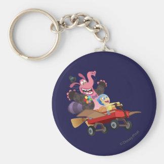 Emotional Roller Coaster Basic Round Button Keychain