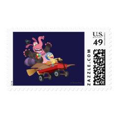 Emotional Roller Coaster Postage Stamp