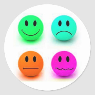 Emotional Smiley Faces Stickers