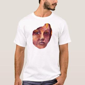 Emotional Woman's Face T-Shirt