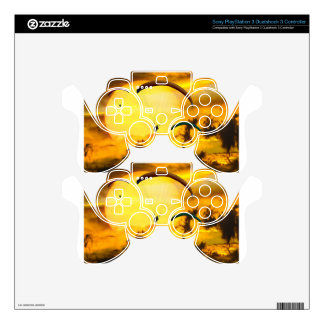 Emotions Adventure Fly Parachute Paragliding PS3 Controller Skin