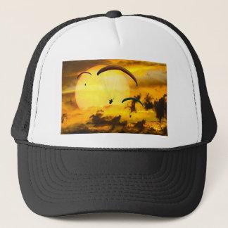 Emotions Adventure Fly Parachute Paragliding Trucker Hat