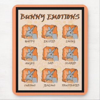 EMOTIONS - BLUE MOUSE PAD