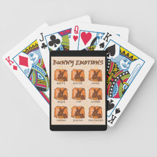 EMOTIONS - CHOCOLATE BICYCLE PLAYING CARDS