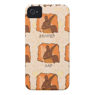 EMOTIONS - CHOCOLATE Case-Mate iPhone 4 CASE